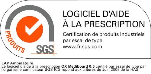 OX Mediboard certifié LAP ambu !