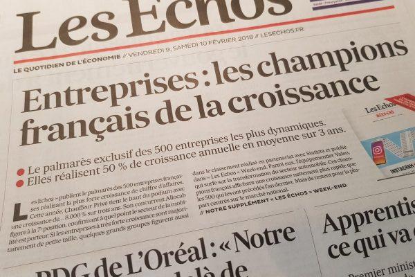 Les champions français de la croissance