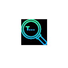 Icon formations analyse requête recherche textuel