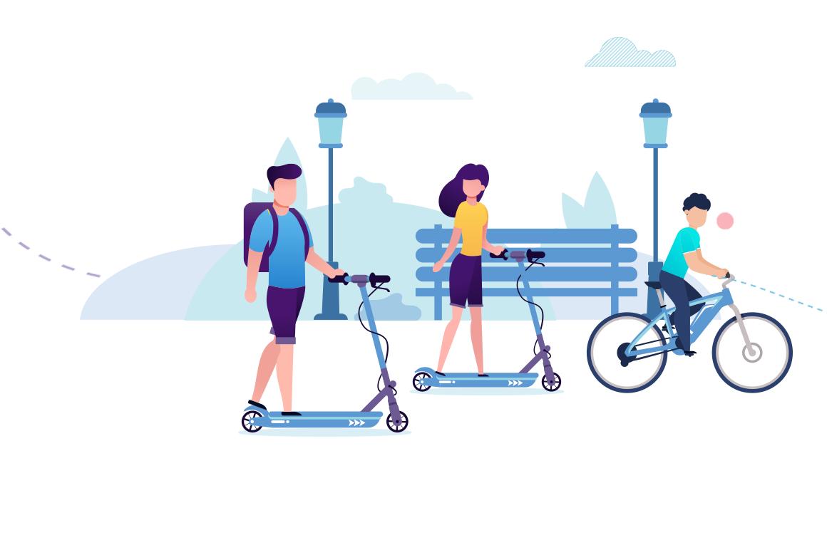 Tout le monde bouge pour le challenge de la mobilité !