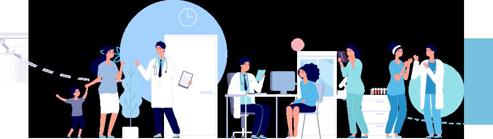 Illustration de l'article 5 nouvelles cliniques sont équipés d'OX Mediboard