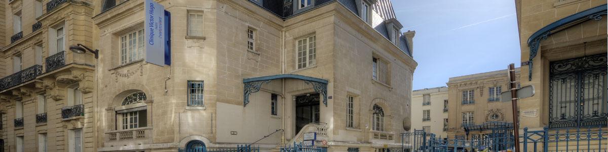 Photo extérieur de la Clinique Victor Hugo