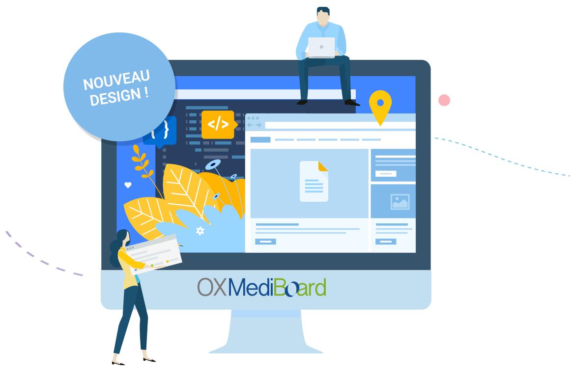 Le nouveau design de Mediboard !